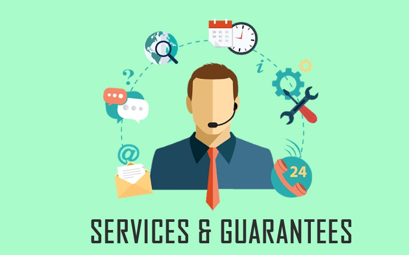 Overall services and guarantees