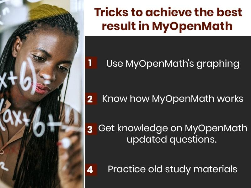 Tricks to achieve the best result in MyOpenMath