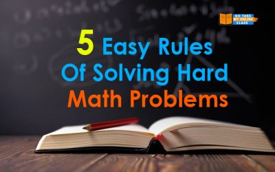 5 Easy Rules Of Solving Hard Math Problems