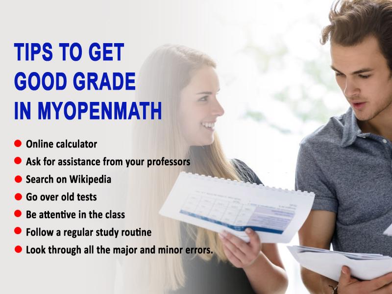 Tips to get good grade in Myopenmath