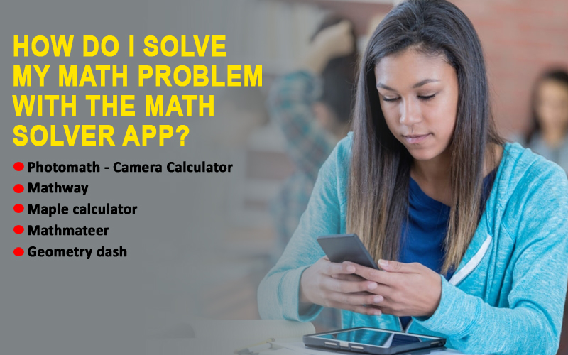 How do I solve my math problem with the Math solver app