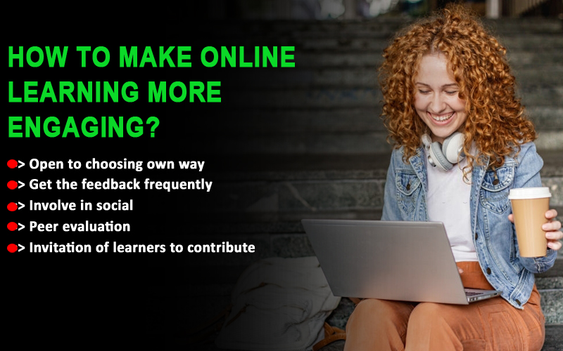 How to make online learning more engaging