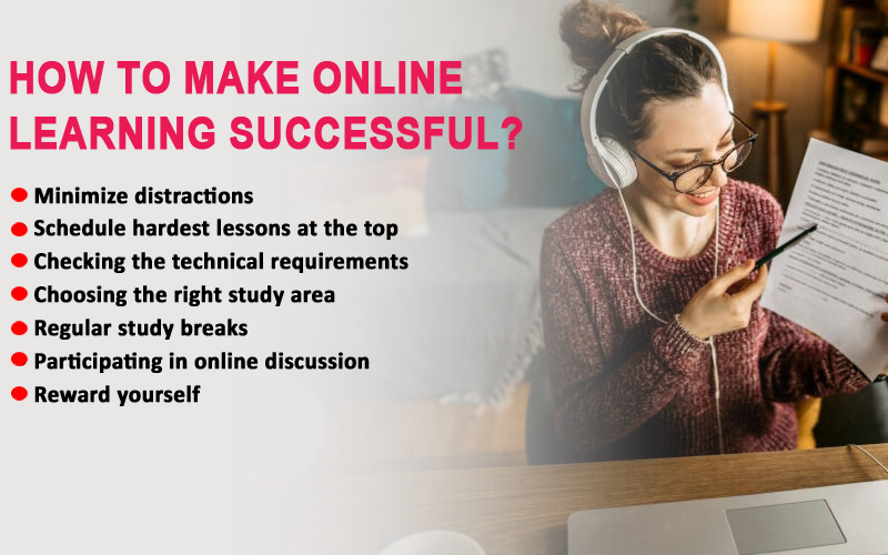 How to make online learning successful