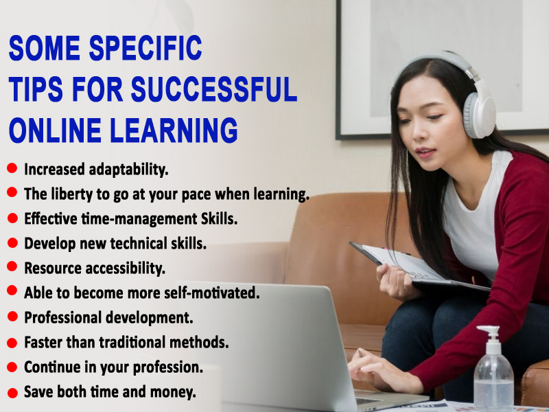Some specific tips for successful online learning