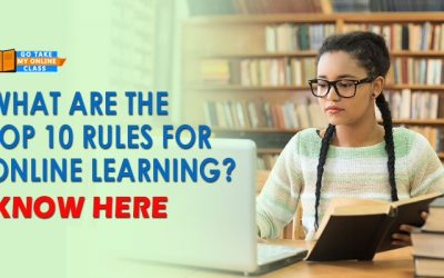 What Are The Top 10 Rules For Online Learning? Know Here